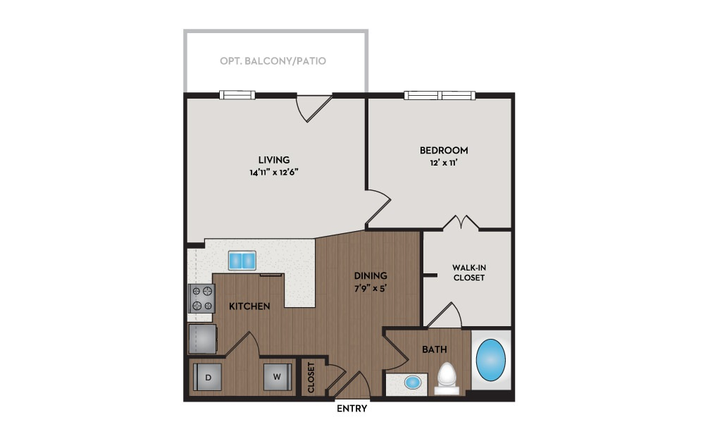 Bungalow Available One Two And Three Bedroom Apartments In Hillsboro Or Nexus At Orenco Station